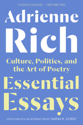 Essential Essays: Culture, Politics, and the Art of Poetry Cover Image