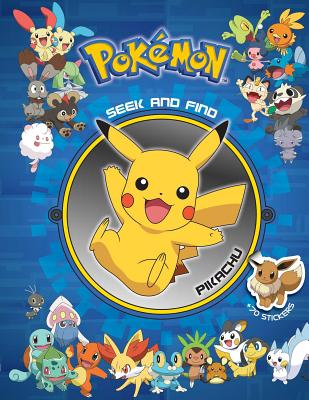 Pokémon Seek and Find: Pikachu Cover Image