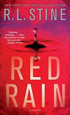 Red Rain Cover