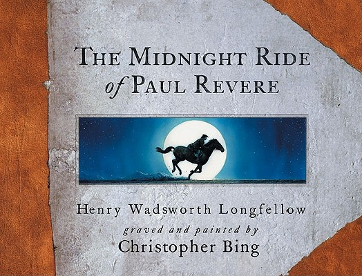 The Midnight Ride of Paul Revere Cover