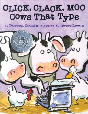 Click, Clack, Moo: Cows That Type (A Click Clack Book) cover