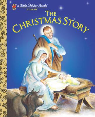 The Christmas Story (Little Golden Book) Cover Image