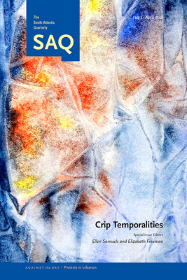 Crip Temporalities Cover Image