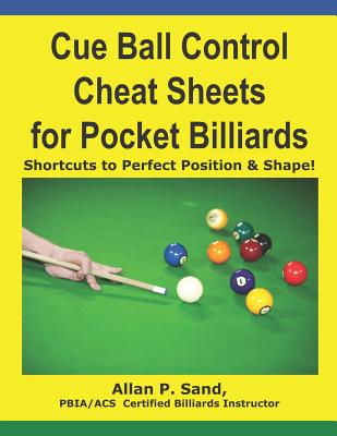 Cue Ball Control Cheat Sheets for Pocket Billiards: Shortcuts to Perfect Position & Shape Cover Image