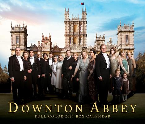 Downton Abbey 2021 Box Calendar Cover Image
