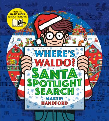 Where's Waldo? Santa Spotlight Search Cover Image