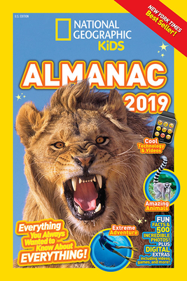 National Geographic Kids Almanac 2019 (National Geographic Almanacs) Cover Image