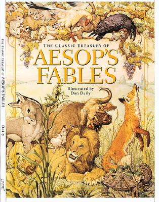 The Classic Treasury of Aesop's Fables Cover