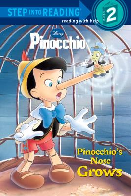 Pinocchio's Nose Grows (Disney Pinocchio) Cover