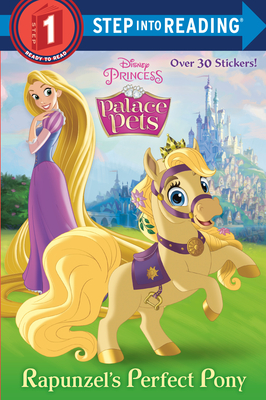 Rapunzel's Perfect Pony (Disney Princess: Palace Pets) (Step into Reading) Cover Image