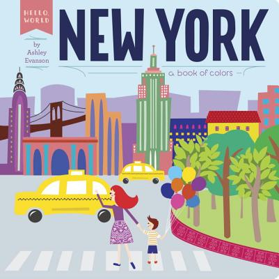New York: A Book of Colors (Hello, World) Cover Image