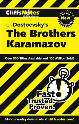 CliffsNotes on Dostoevsky's The Brothers Karamazov, Revised Edition Cover Image