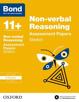 Bond 11+: Non-Verbal Reasoning: Stretch Papers Cover Image