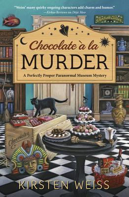 Chocolate a la Murder (Perfectly Proper Paranormal Museum Mystery #4) Cover Image