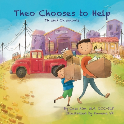 Theo Chooses to Help: Th and Ch Sounds Cover Image