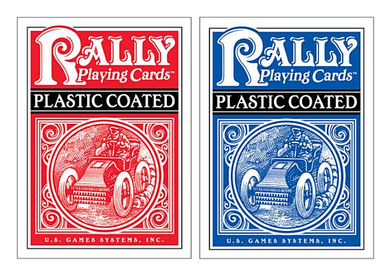 Plastic-Coated Rally Playing Cards Cover Image