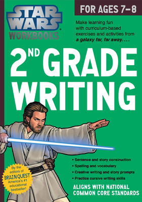 Star Wars Workbook: 2nd Grade Writing (Star Wars Workbooks) Cover Image