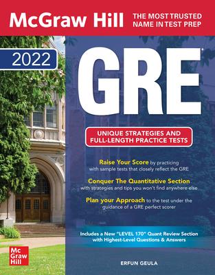 McGraw Hill GRE 2022 Cover Image