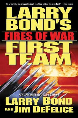 Larry Bond's First Team Cover
