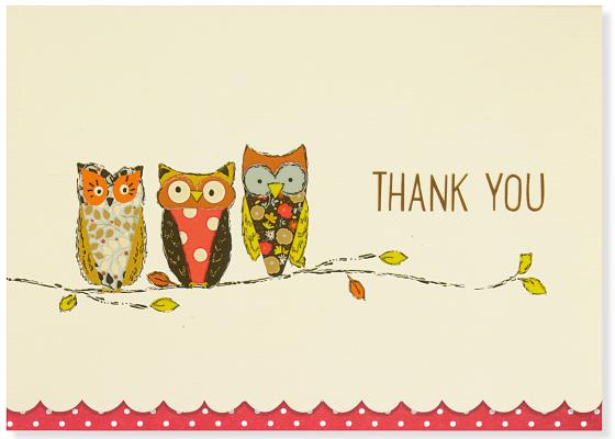 Ty Note Perching Owls Cover Image