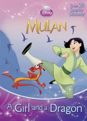 A Girl and a Dragon (Disney Princess) Cover