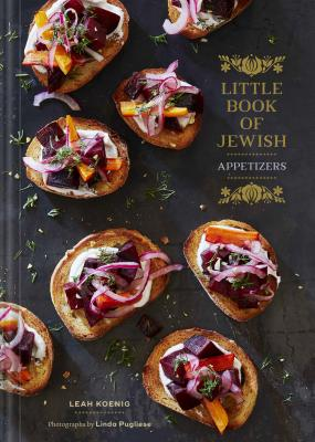 Little Book of Jewish Appetizers: (Jewish Cookbook, Hannukah Gift) Cover Image