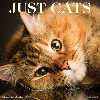 Just Cats 2021 Wall Calendar Cover Image