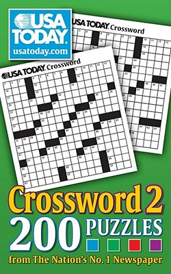 USA TODAY Crossword 2: 200 Puzzles from The Nations No. 1 Newspaper (USA Today Puzzles) Cover Image