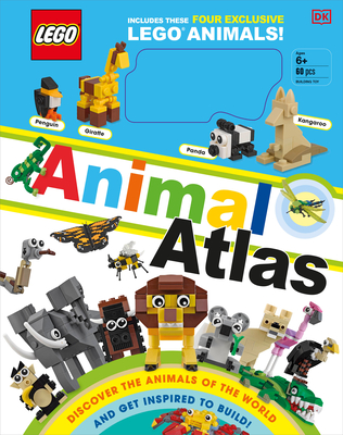 LEGO Animal Atlas: Discover the Animals of the World and Get Inspired to Build! Cover Image