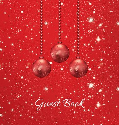 Christmas Party Guest Book (HARDCOVER), Party Guest Book, Birthday Guest Comments Book, House Guest Book, Seasonal Party Guest Book, Special Events & Cover Image