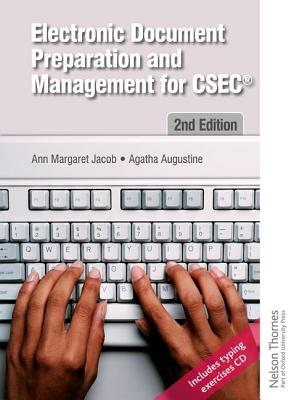 Electronic Document Preparation and Management for Csec 2nd Edition [With CD (Audio)] Cover Image