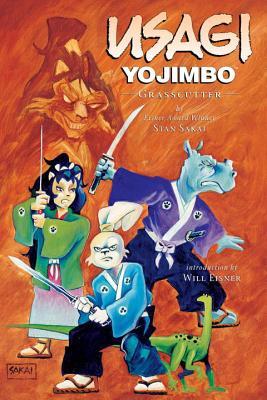 Usagi Yojimbo Volume 12: Grasscutter Cover Image