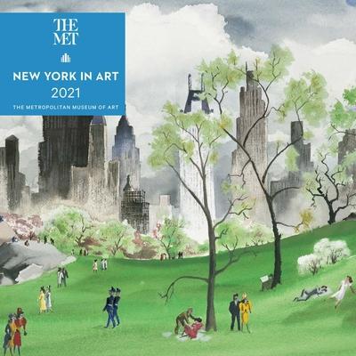 New York in Art 2021 Mini Wall Calendar Cover Image