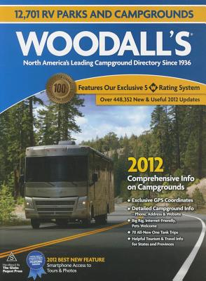 Woodall's North American Campground Directory, 2012 Cover Image