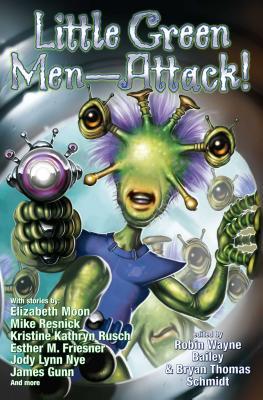 Cover for Little Green Men--Attack!