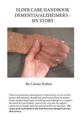 Elder Care Handbook - Dementia/Alzheimer's - My Story Cover Image