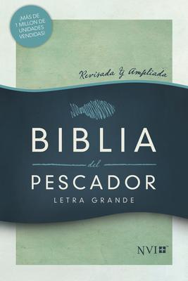 Cover for NVI Biblia del Pescador letra grande, verde tapa dura