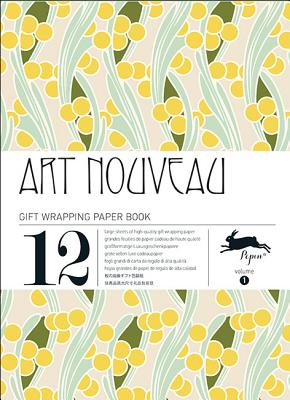 Art Nouveau: Gift Wrapping Paper Book Vol. 1 Cover Image