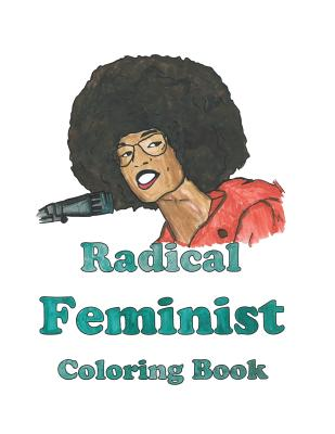 Radical Feminist Coloring Book Cover Image