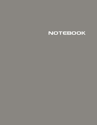Notebook: Lined Notebook Journal - Stylish Barnwood Gray - 120 Pages - Large 8.5 x 11 inches - Composition Book Paper - Minimali Cover Image