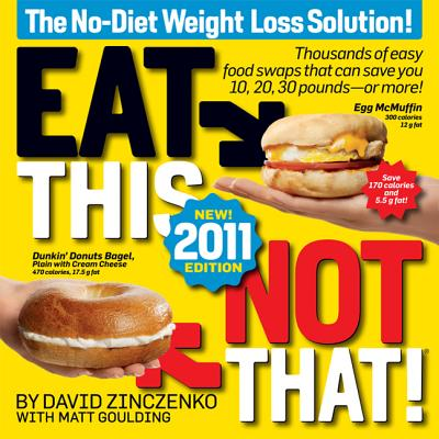 Eat This, Not That! 2011 Cover
