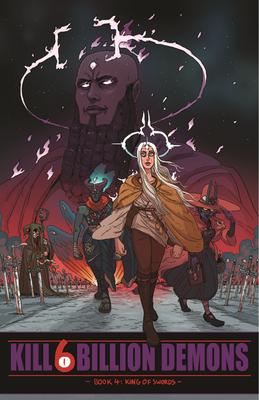 Cover for Kill 6 Billion Demons, Book 4