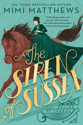 Cover for The Siren of Sussex (Belles of London #1)