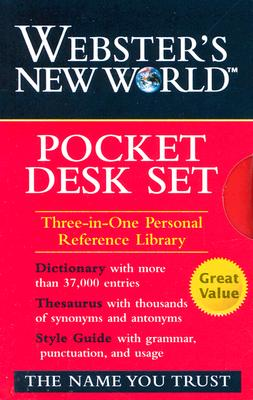 WNW Dictionary, Thesaurus, Style Guide Pocket DeskSet Cover Image