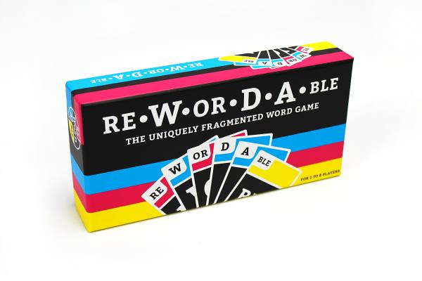 Rewordable Card Game: The Uniquely Fragmented Word Game Cover Image