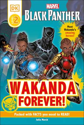 Cover for Marvel Black Panther Wakanda Forever! (DK Readers Level 2)