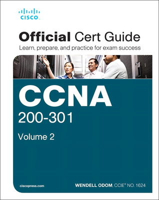 CCNA 200-301 Official Cert Guide, Volume 2 Cover Image