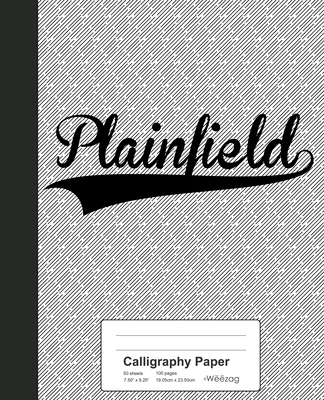 Calligraphy Paper: PLAINFIELD Notebook Cover Image
