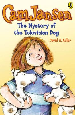 Cam Jansen: The Mystery of the Television Dog #4 Cover Image