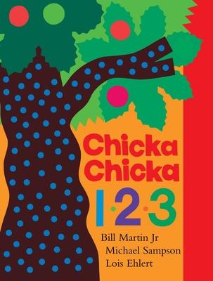 Chicka Chicka 1, 2, 3: Lap Edition (Chicka Chicka Book, A) Cover Image
